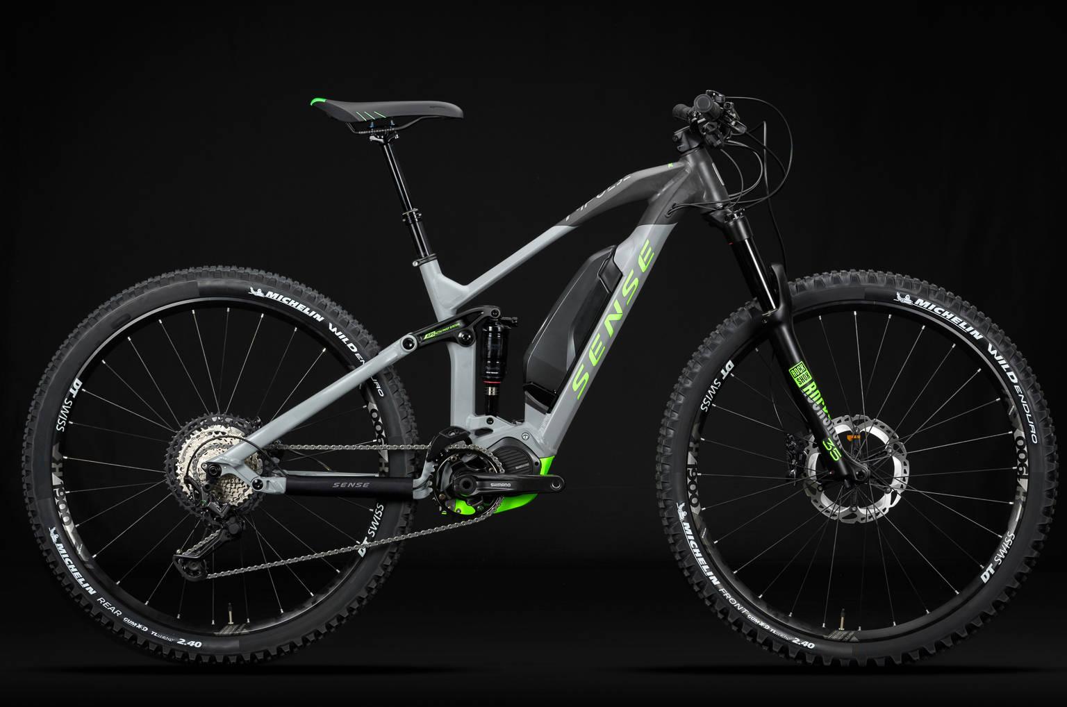 Bicicleta Sense Impulse E-Trail - MTB Elétrica para todo tipo de ...